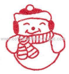 Happy Freddy Snowman