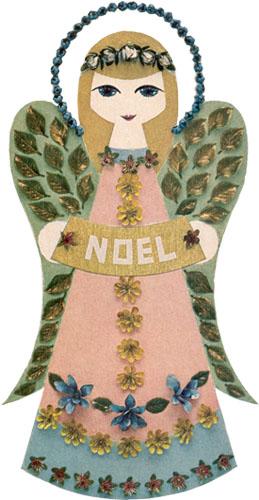Original Wooden Angel