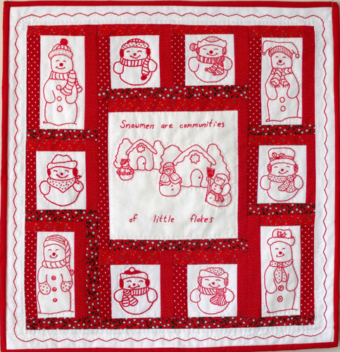 Freddy and Albert Quilt