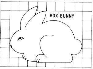 Easter Bunny Box Pattern