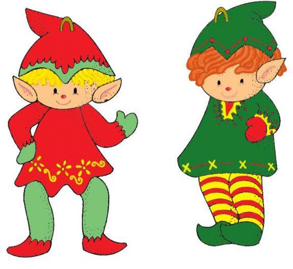 coloured elves