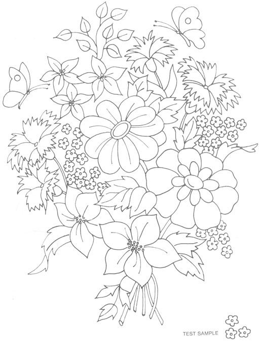 Embroidery Pattern Of The Month Free Embroidery Patterns