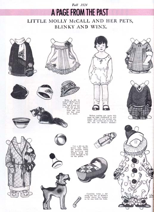 Molly McCall Paper Doll
