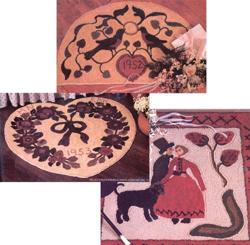 vintage wedding rugs