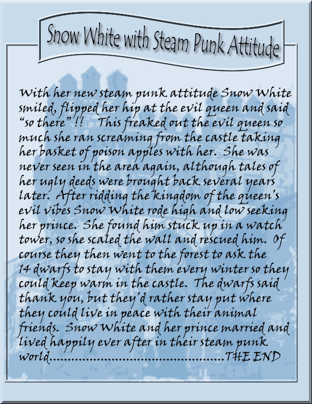 New Snow White story