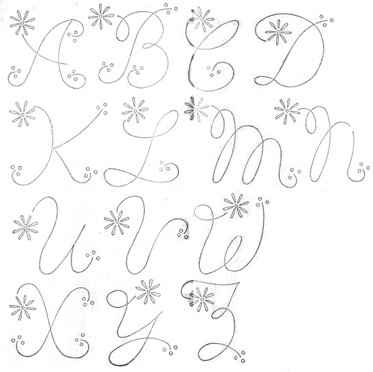 Women's workbasket alphabet-1