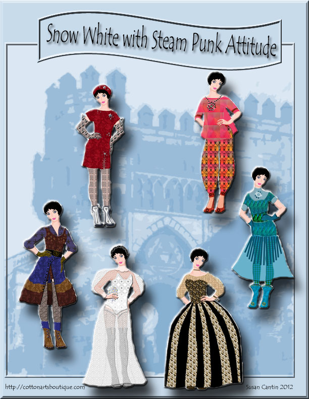 steam punk paper doll book cover