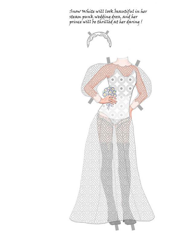 Wedding Dress for a Steam Punk princess