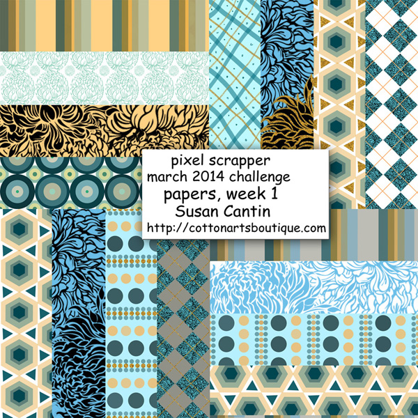 Pixel scrappers March challenge, week 1 papers