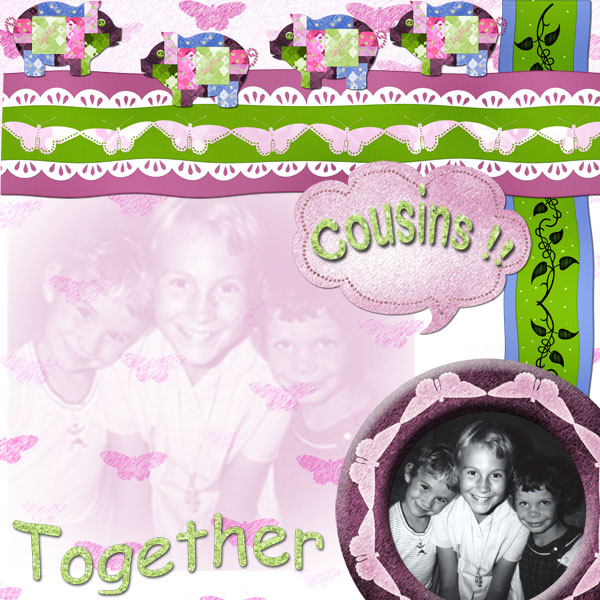 Cousins, together in time