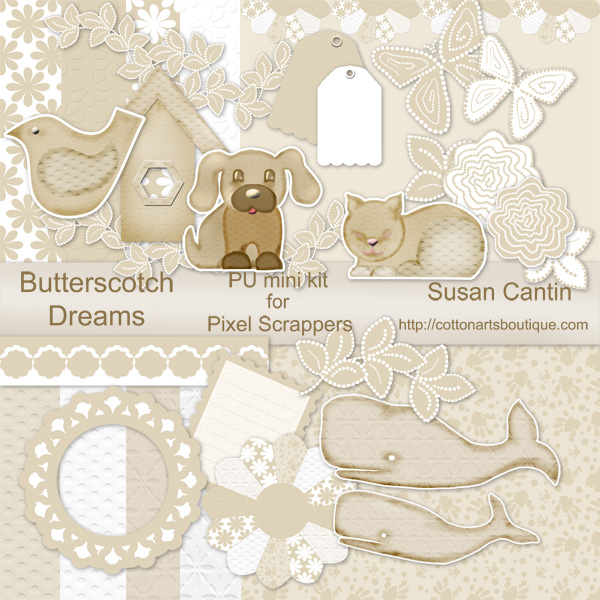 Butterscotch Dreams minikit