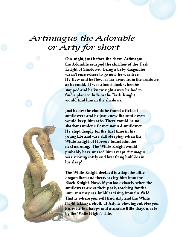 Artigamus the Adorable story