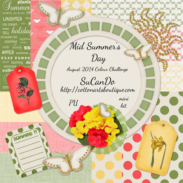 Mid Summer's Day mini kit