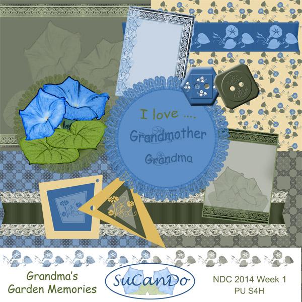 Grandma's Garden Memories