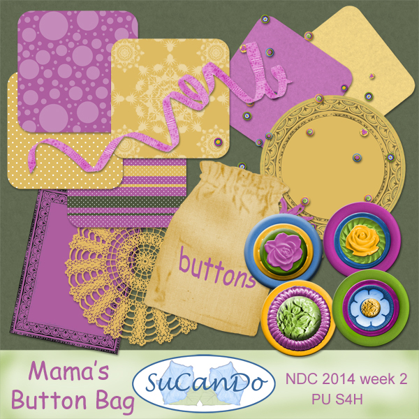 Mama's Button Bag