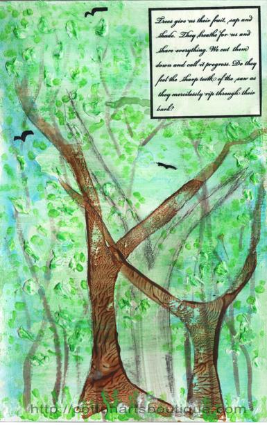 Feel, honuring trees
