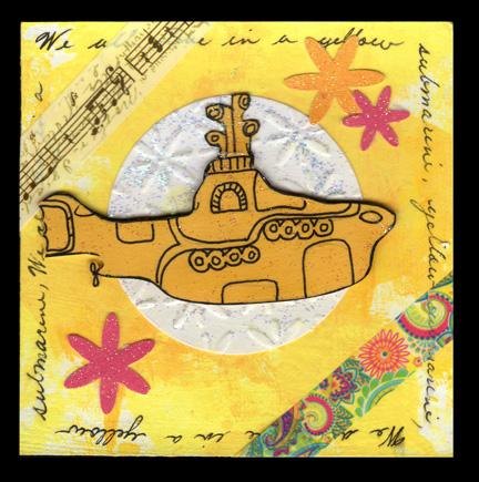 Yellow Submarine April Yellow 4x4
