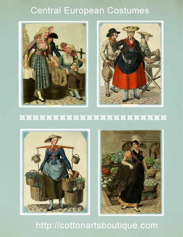 Central European Costumes