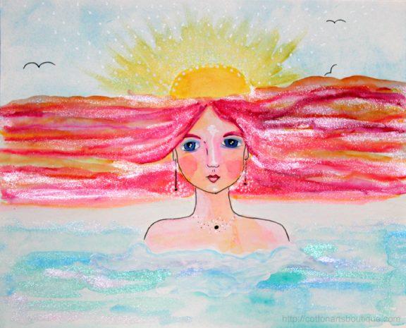 Goddess of the dawn