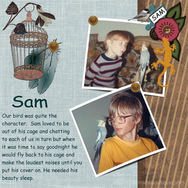 Sam and the boys