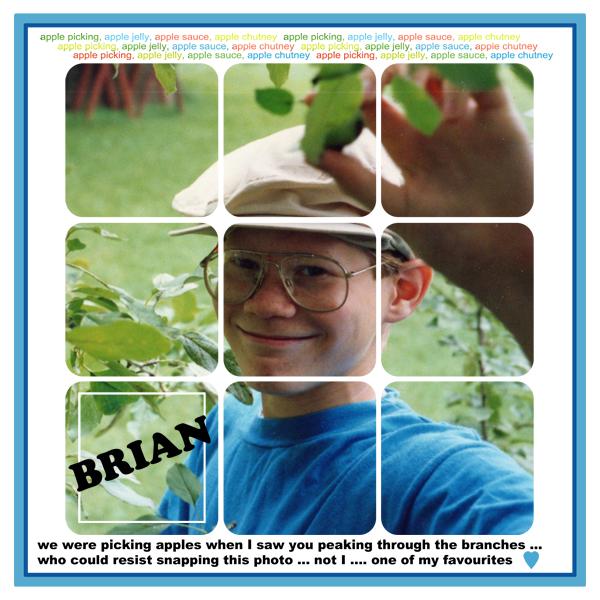 Brian apple picking