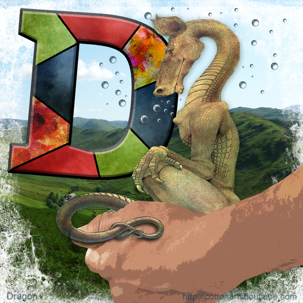 D is for Dragon, Arty for short