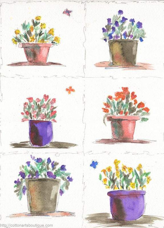 5 minute flowers