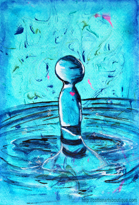 Ripple effect, honoring your story