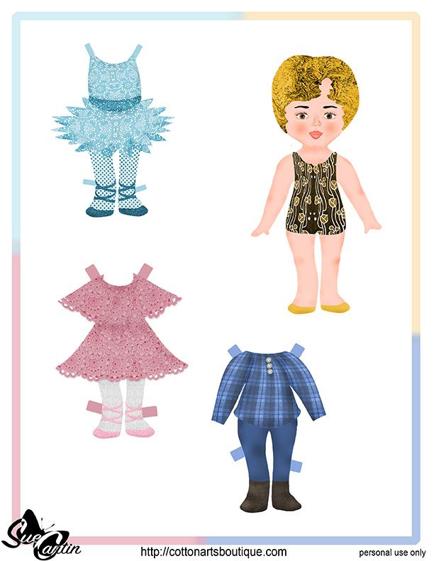 April paper doll 2