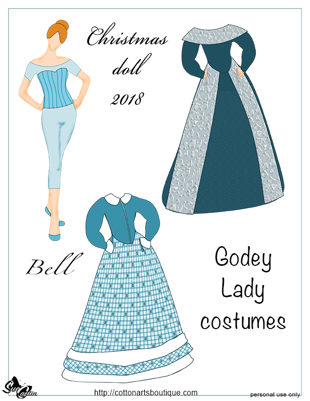 Bell paper doll